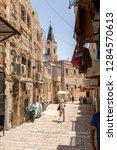 jerusalem  israel   june 16 ...   Shutterstock . vector #1284570613