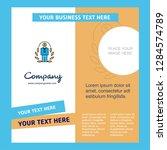 employee  company brochure... | Shutterstock .eps vector #1284574789