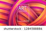 bright geometric background.... | Shutterstock .eps vector #1284588886