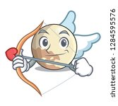 cupid planet pluto in the... | Shutterstock .eps vector #1284595576