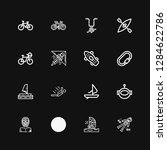 editable 16 extreme icons for... | Shutterstock .eps vector #1284622786