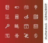 editable 16 spiral icons for...