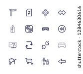 editable 16 move icons for web...