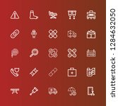 editable 25 accident icons for... | Shutterstock .eps vector #1284632050