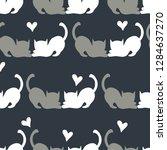seamless vector pattern... | Shutterstock .eps vector #1284637270