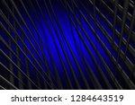 illustration blue digital... | Shutterstock . vector #1284643519