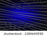 illustration blue digital... | Shutterstock . vector #1284643930