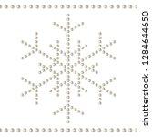 seamless decorative border... | Shutterstock .eps vector #1284644650