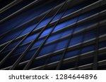 illustration blue digital... | Shutterstock . vector #1284644896