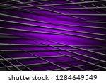 illustration purple digital... | Shutterstock . vector #1284649549