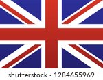 vector uk flag | Shutterstock .eps vector #1284655969