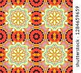 bright flower. vector...   Shutterstock .eps vector #1284659659