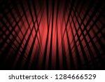 illustration red digital energy ... | Shutterstock . vector #1284666529