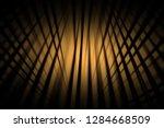 illustration orange digital... | Shutterstock . vector #1284668509