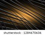 illustration orange digital... | Shutterstock . vector #1284670636