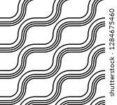design seamless monochrome...   Shutterstock .eps vector #1284675460