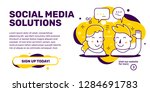 vector creative illustration of ... | Shutterstock .eps vector #1284691783