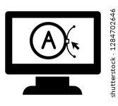 brand computer design icon....