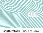 design sea green waving lines... | Shutterstock .eps vector #1284718369