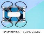 hi tech travel gadget and... | Shutterstock . vector #1284722689
