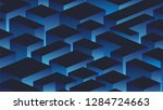 abstract geometric background... | Shutterstock .eps vector #1284724663