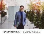 asian businessman casual... | Shutterstock . vector #1284743113