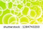 bubble vector with a gradient... | Shutterstock .eps vector #1284743203