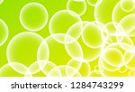 bubble vector with a gradient... | Shutterstock .eps vector #1284743299