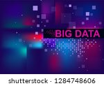 big data and new technologies... | Shutterstock .eps vector #1284748606