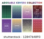 adorable covers collection.... | Shutterstock .eps vector #1284764893