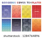 gorgeous cover templates.... | Shutterstock .eps vector #1284764896