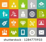 business and office icons ... | Shutterstock .eps vector #1284775933