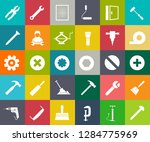 repair tools icons set  ... | Shutterstock .eps vector #1284775969