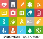 medical icons  health care... | Shutterstock .eps vector #1284776080