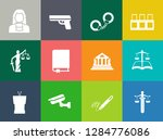 vector collection or set of law ... | Shutterstock .eps vector #1284776086