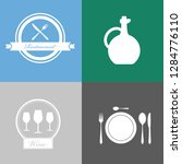 food and beverage icons ...   Shutterstock .eps vector #1284776110