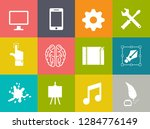web design icons  graphic... | Shutterstock .eps vector #1284776149