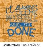 inspirational quote... | Shutterstock .eps vector #1284789070