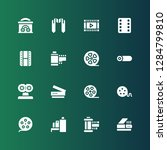 strip icon set. collection of... | Shutterstock .eps vector #1284799810