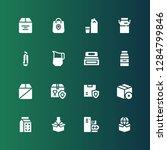 carton icon set. collection of... | Shutterstock .eps vector #1284799846