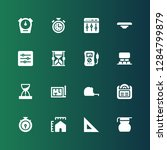 measure icon set. collection of ... | Shutterstock .eps vector #1284799879