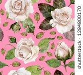 seamless watercolor pattern....   Shutterstock . vector #1284800170