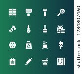 handle icon set. collection of... | Shutterstock .eps vector #1284807460