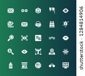 vision icon set. collection of...   Shutterstock .eps vector #1284814906