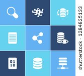 information technology icon set ... | Shutterstock .eps vector #1284825133