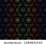 hologram abstract background...   Shutterstock .eps vector #1284831910
