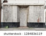 the front a shop which has... | Shutterstock . vector #1284836119