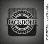 backbone black badge | Shutterstock .eps vector #1284836563