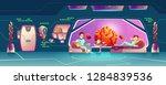 future starship crew members ... | Shutterstock .eps vector #1284839536