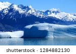 lago argentino is a lake in the ... | Shutterstock . vector #1284882130